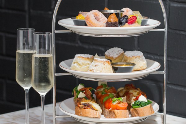 Peruvian Afternoon Tea with Bubbles for Two at Monmouth Kitchen Covent Garden