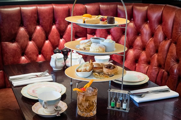 Traditional Champagne Afternoon Tea for Two at Reform Social & Grill