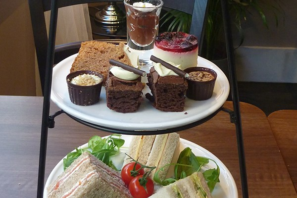 Sparkling Afternoon Tea for Two at Tophams Hotel