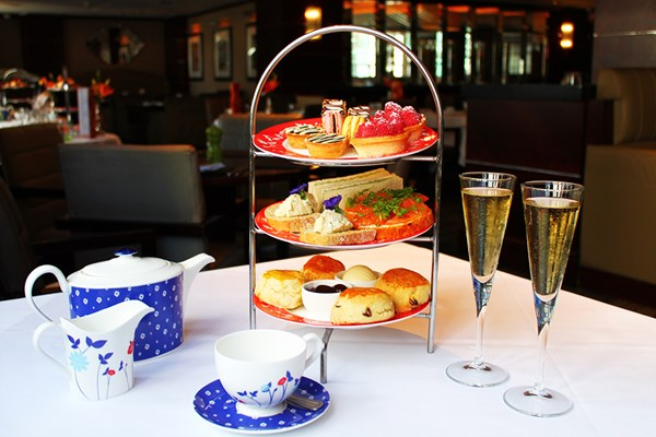 Champagne Afternoon Tea for Two at Amba Hotel, Marble Arch
