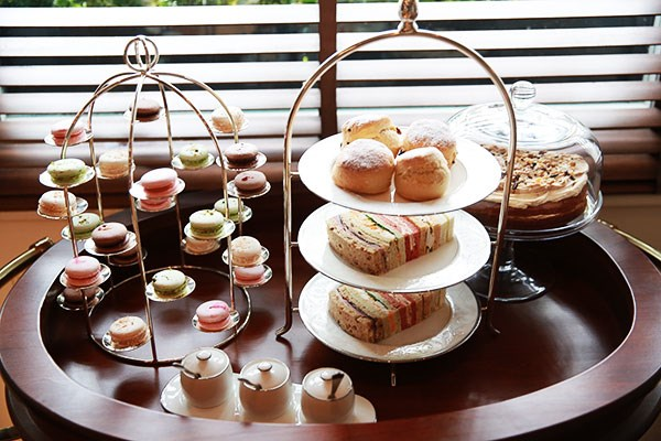 Champagne Afternoon Tea for Two at Roseate House Hotel - Special Offer