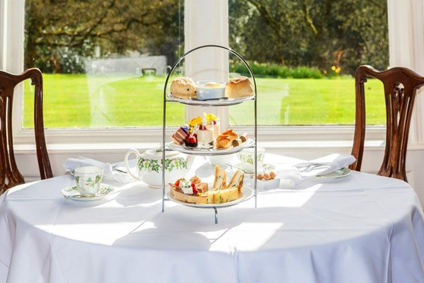 Sparkling Afternoon Tea for Two at Langrish House
