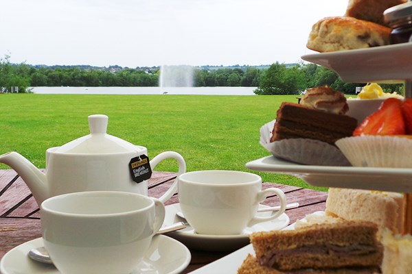 Sparkling Afternoon Tea for Two at Crowne Plaza Marlow