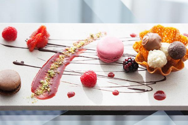 Three Course Meal with Fizz for Two at Crowne Plaza Marlow