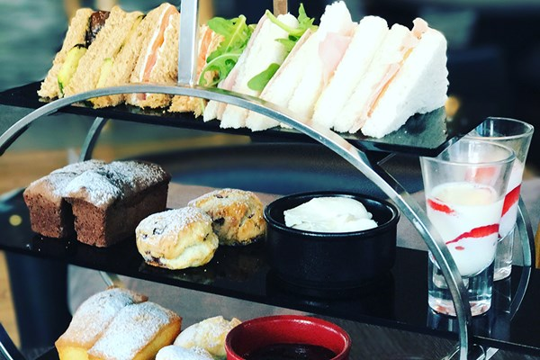 Afternoon Tea with Bottomless Prosecco for Two at View 94