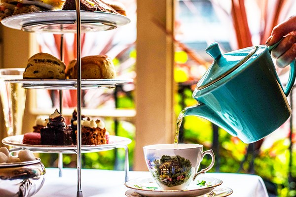 Afternoon Tea for Two at Boulevard Brasserie
