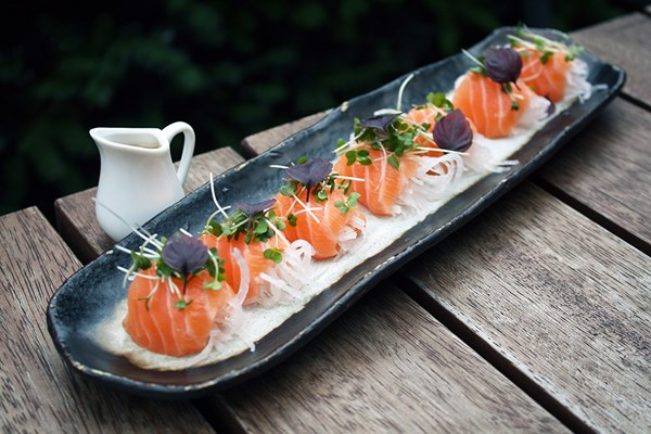 Unlimited Asian Tapas and Sushi with Bottomless Drinks for Two at Inamo