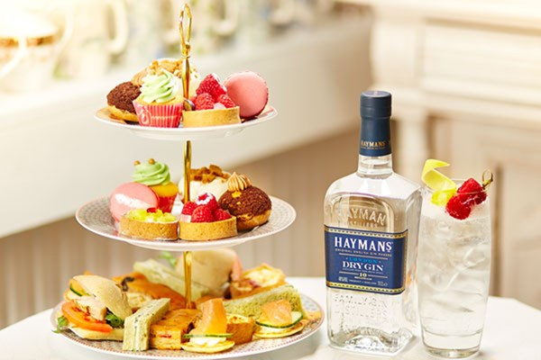 Gin Afternoon Tea for Two at B Bakery London