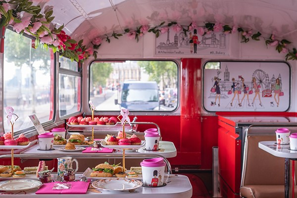 Buy B Bakery Afternoon Tea London Bus Tour for Two