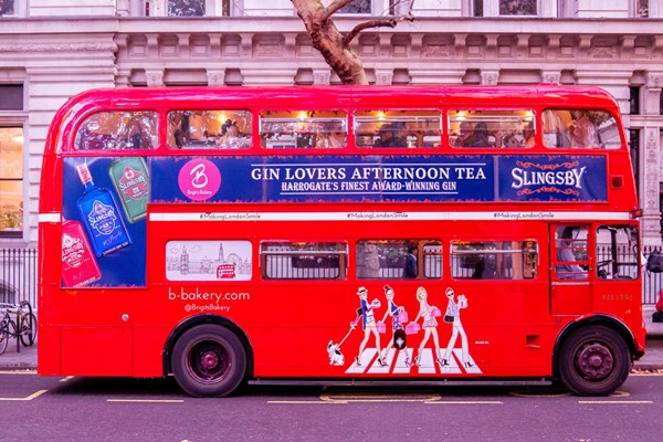 Buy Gin Afternoon Tea London Bus Tour for Two with Brigit�s Bakery
