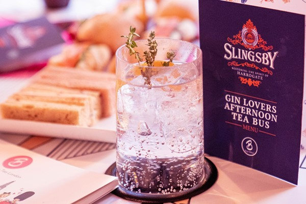 Buy B Bakery Gin Afternoon Tea London Bus Tour for Two