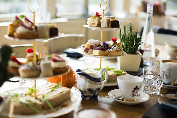 Sparkling Afternoon Tea for Two at The Vicarage Freehouse and Rooms