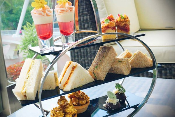 Gin Afternoon Tea for Two at The Lowry Hotel
