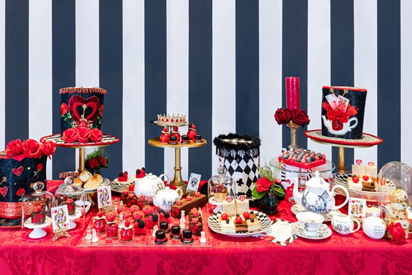Alice's Queen of Hearts Afternoon Tea for Two at 5* Taj 51 Hotel