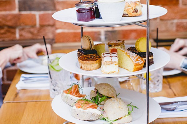 Afternoon Tea with Fizz for Two at The Old Rectory