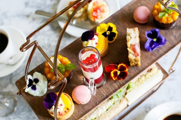 Afternoon Tea for Two at Eynsham Hall