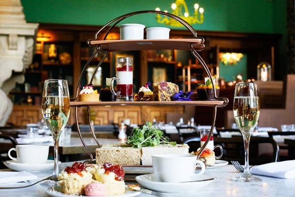 Champagne Afternoon Tea for Two at Eynsham Hall