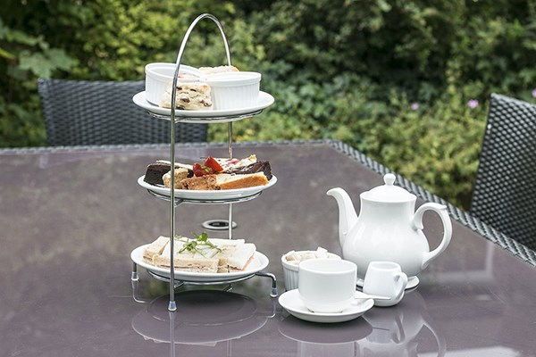 Sparkling Afternoon Tea for Two at Best Western Normanton Park Hotel