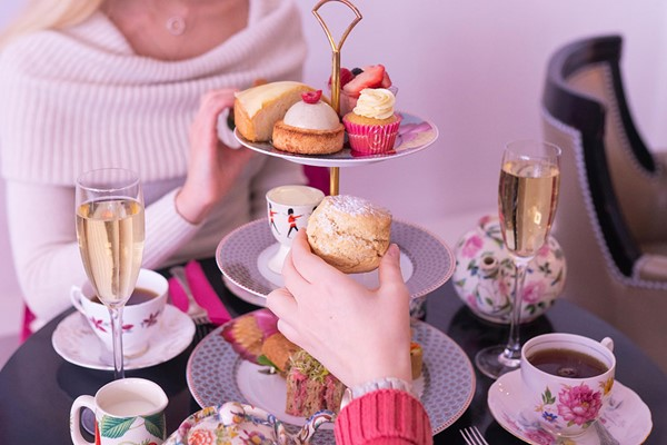 Prosecco Afternoon Tea for Two at B Bakery London