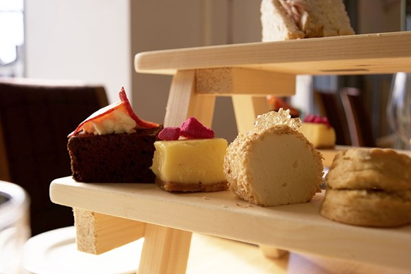 Deluxe Afternoon Tea with Bubbles for Two at Allium by Mark Ellis