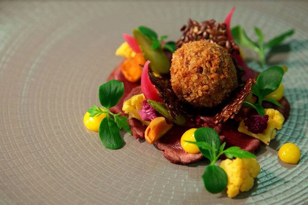 7 Course Tasting Menu For Two At Goldsborough Hall Hotel
