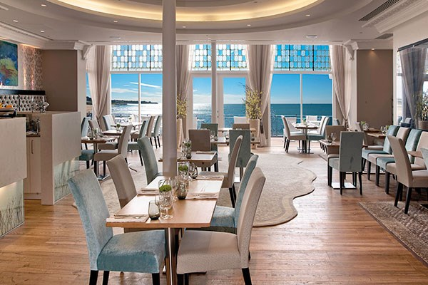 Three Course Meal with a Bottle of Bubbly at The Sands Hotel Margate