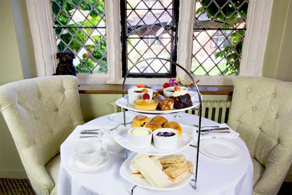 Traditional Afternoon Tea for Two at Seckford Hall Hotel