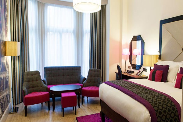 Overnight Stay with Dinner at Hotel Indigo London Kensington