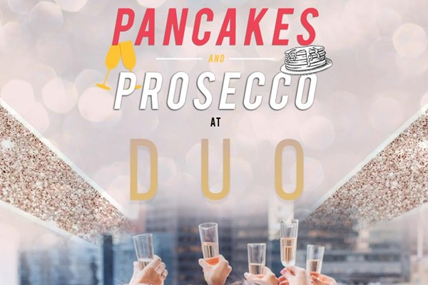 Bottomless Prosecco and Pancakes for Two at DUO Camden