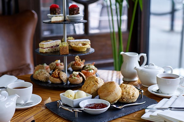 South African Inspired Afternoon Tea for Two at B Bar, London