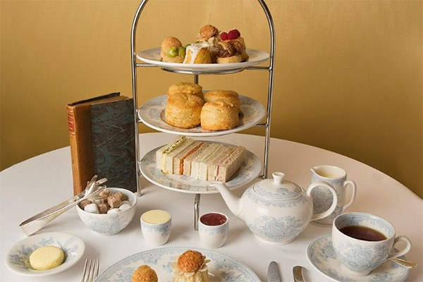 Traditional Afternoon Tea for Two at St James Hotel and Club
