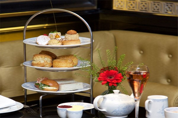 Champagne Afternoon Tea for Two at St. James Hotel and Club