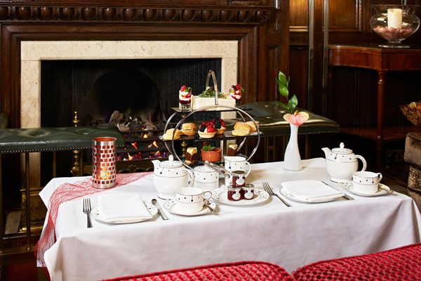 Afternoon Tea with Bubbles for Two at The Rembrandt