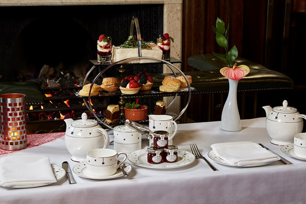 Afternoon Tea for Two at The Rembrandt