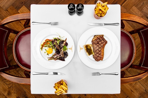 Three Courses with Sides and Cocktails at Marco Pierre White London Steakhouse Co