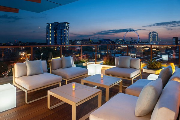 Seven Course Tapas with Cocktails for Two at H10 London Waterloo Sky Bar