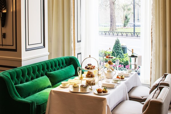 Champagne Afternoon Tea for Two at The Park Room at 5* Grosvenor House Hotel