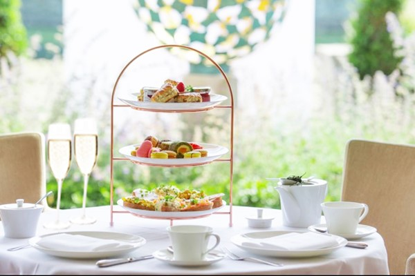 Afternoon Tea with free flowing Prosecco for Two at Centurion Club