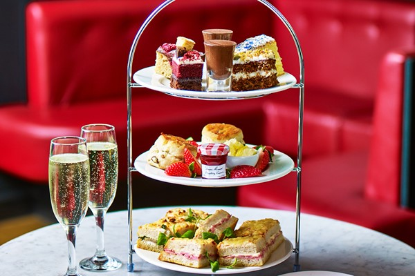 Sparkling Afternoon Tea For Two At Caf