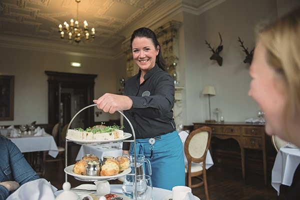 Afternoon Tea for Two at Nidd Hall Hotel