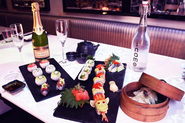 Sushi Afternoon Tea with Bubbles for Two at Inamo