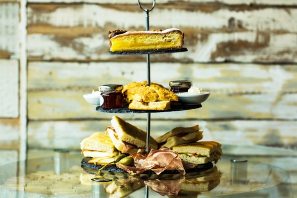 Afternoon Tea with a Bottle of Prosecco for Two at Veeno Italian Wine Cafe