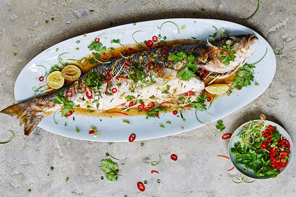 We Love Fish Cookery Class at The Jamie Oliver Cookery School