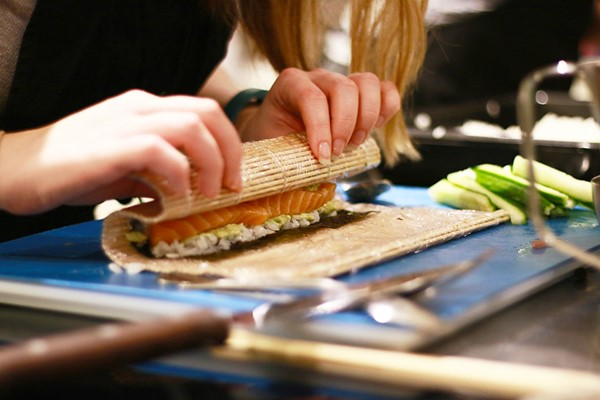 Sushi Workshop at The Avenue Cookery School
