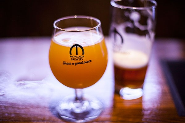 Brewery Tour with Tastings for Two at Moncada Brewery and Taproom