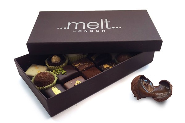 Sea Salted Chocolate Bonbons Experience for One at Melt Chocolates