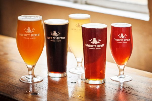 Calverley's Brewery Beer Tasting for Two
