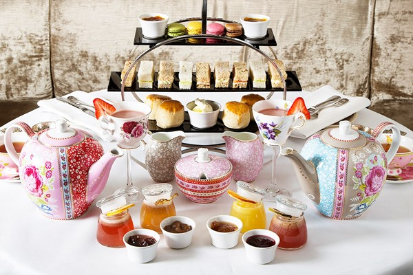 Gin and Jam Afternoon Tea for Two with a Cocktail Masterclass at Hush - Special Offer