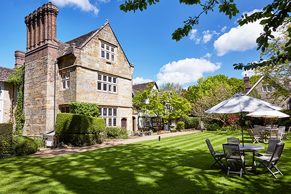 Spa Day with Treatment and Afternoon Tea for Two at Ockenden Manor Hotel and Spa