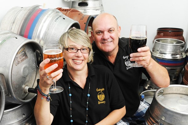 Premium Brewery Tour for Two at Kissingate Brewery
